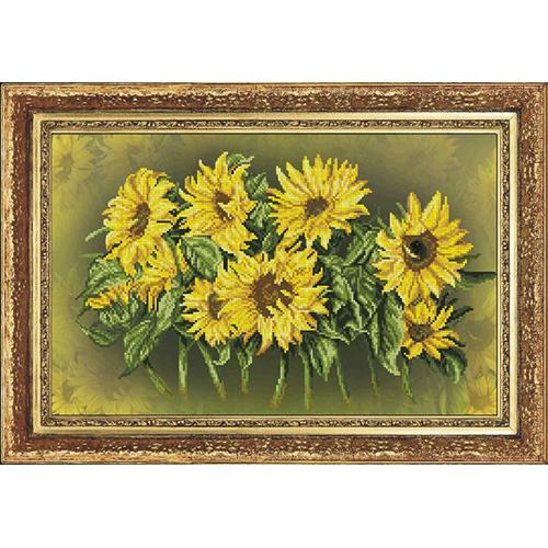 60412 Набор для вышивания Краса и творчество 'Солнечный фокстрот 1' 41*26 см