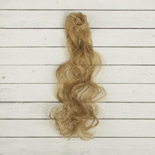 """2294338 Трессы для кукол """"Кудри"""" длина волос 40 см, ширина 50 см, № 24"""