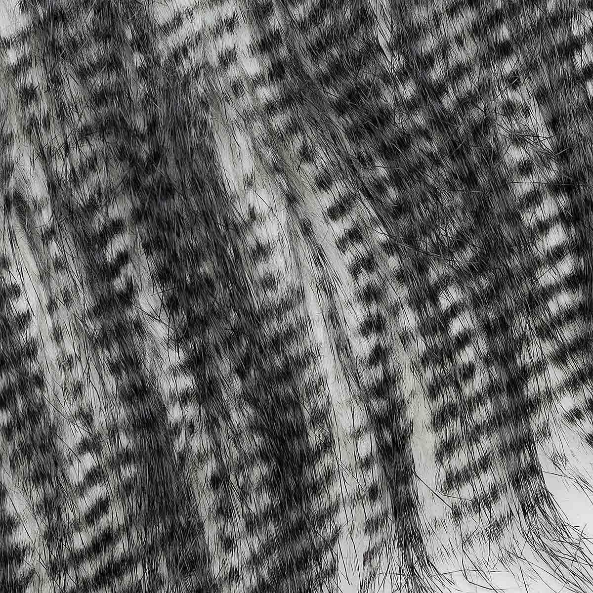 1001-003 MONDIAL Мех искусственный 'Опоссум' 80% акрил, 20% п/э, 12х160 см