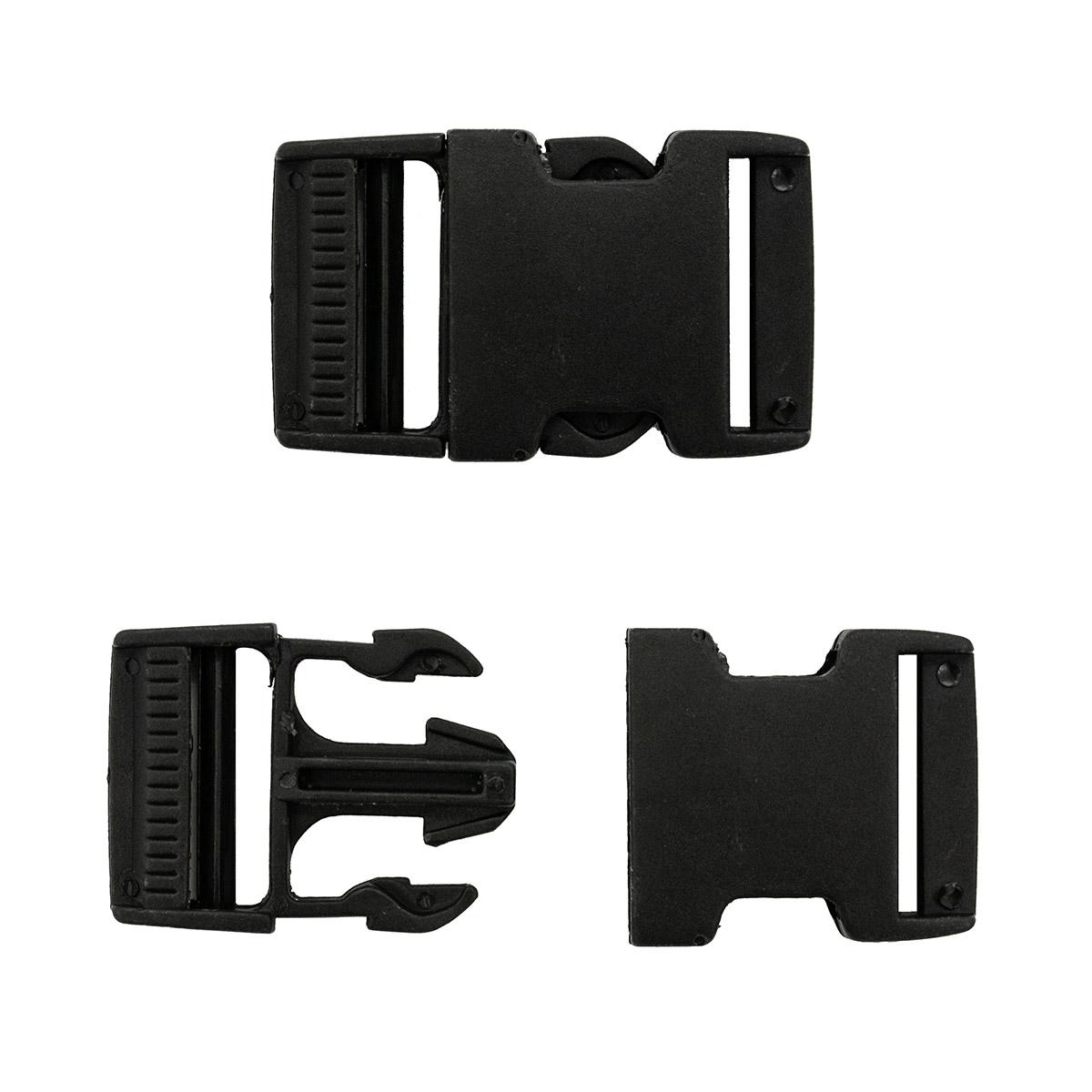0323-0100 Фастекс, черный, 32 мм, Hobby&Pro