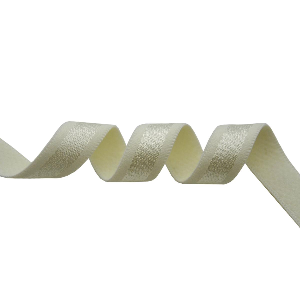 STD/45 эластичная бретелечная лента 12мм*50м, молочный