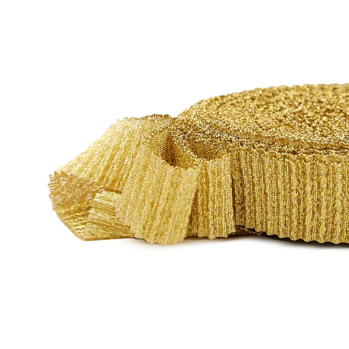 С3126 Парча гофрированная рис.7179 19мм*10м