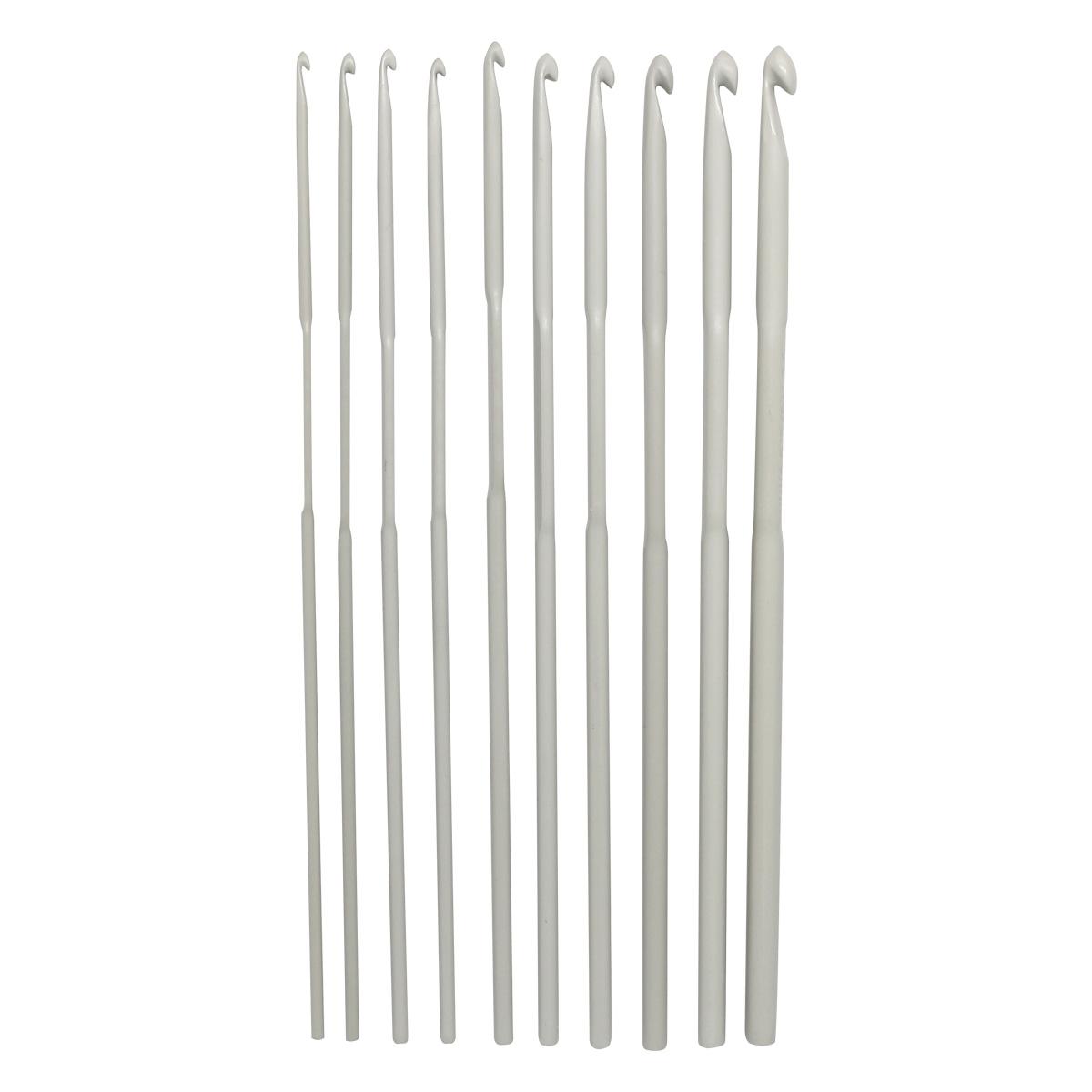 Набор крючков для вязания PONY  45222 алюминий 2мм./15см.