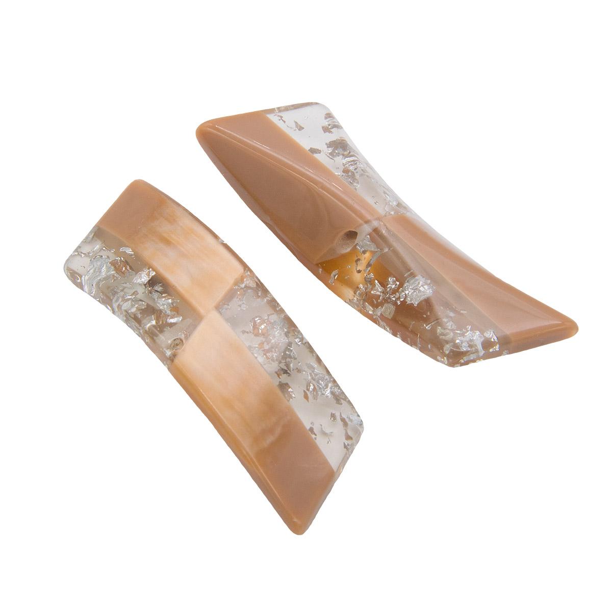 Пуговица пальтовая на ножке (пластик)