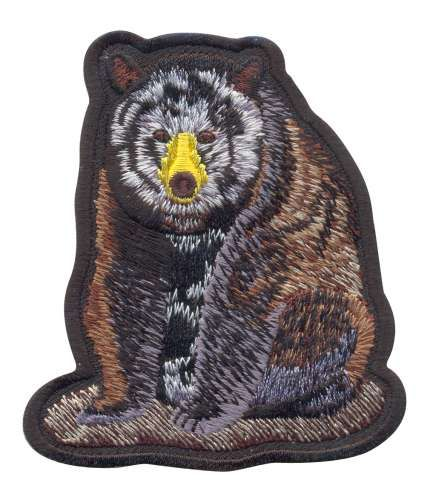 AD1347 Термоаппликация 'Медведь', Hobby&Pro