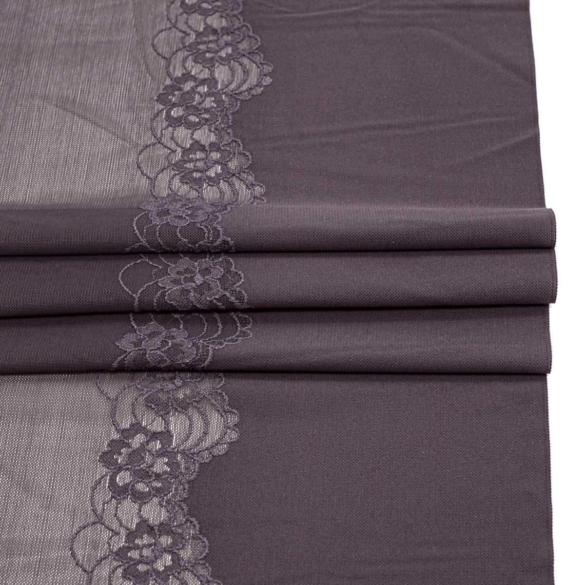 SU-25 Ткань эластичная бельевая 29 см*10 м, фиолетовый