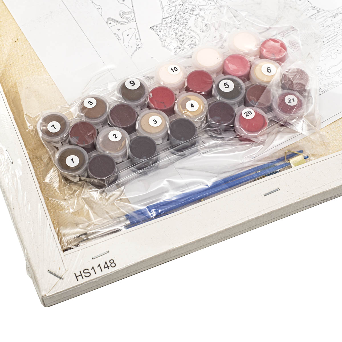 HS1148 Набор для рисования по номерам 'Любовь' 40*50см