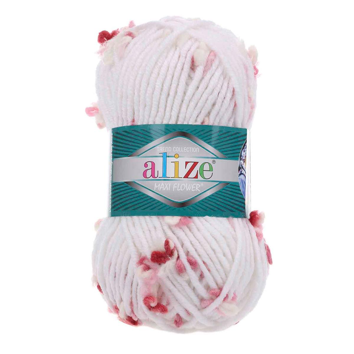 Пряжа ALIZE 'Flower' (25%шерсть, 70%акрил, 5%п/а) ТУ