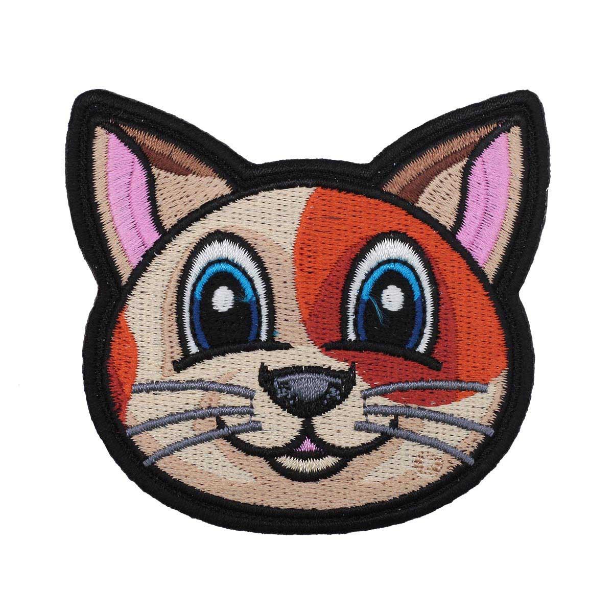 Термоаппликация 'Кошка' 7*7,5см Hobby&Pro