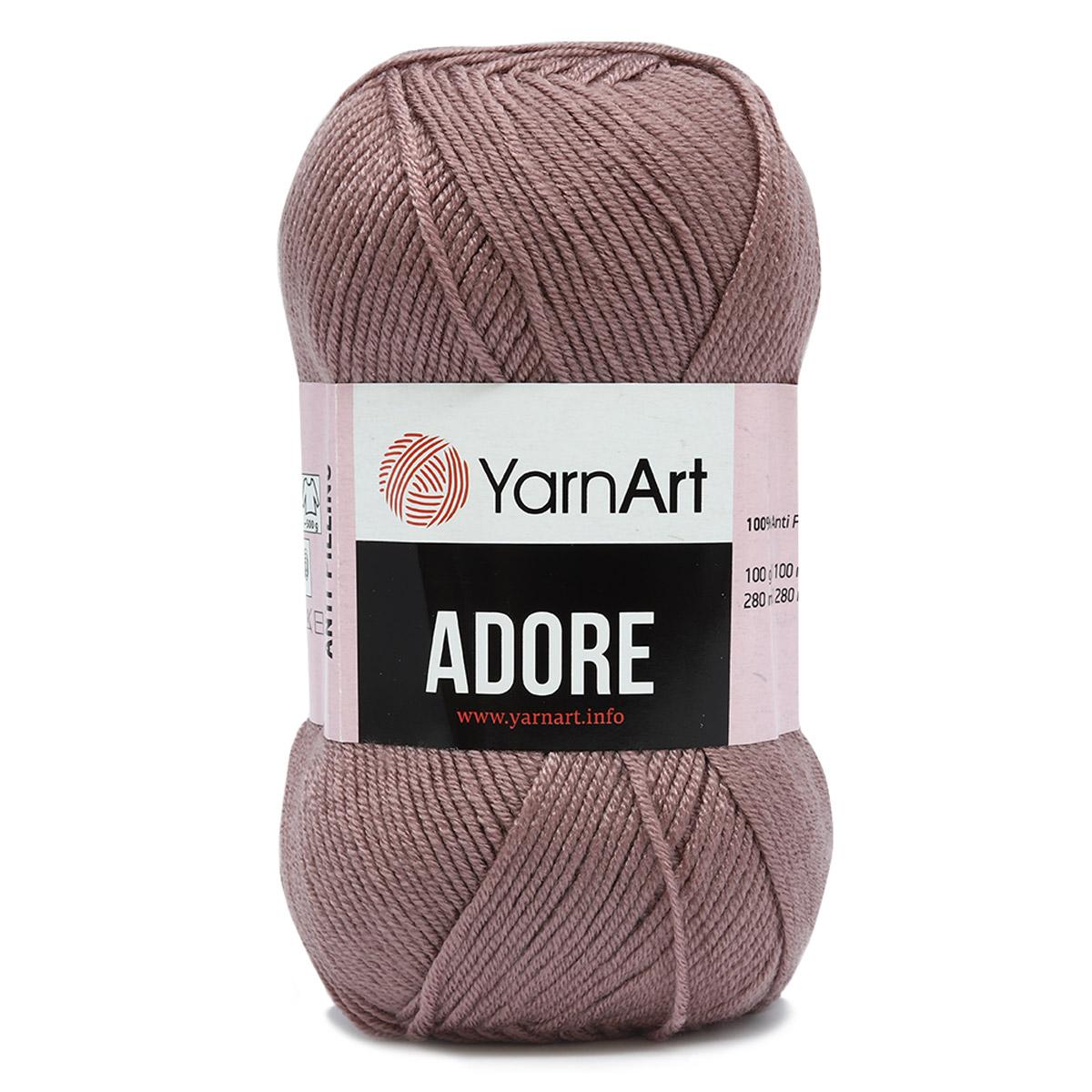 Пряжа YarnArt 'Adore' 100гр 280м (100% акрил с эффектом анти-пиллинга)