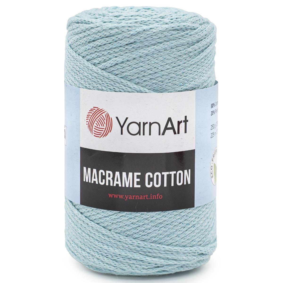 Пряжа YarnArt 'Macrame Cotton' 250гр 225м (80% хлопок, 20% полиэстер)