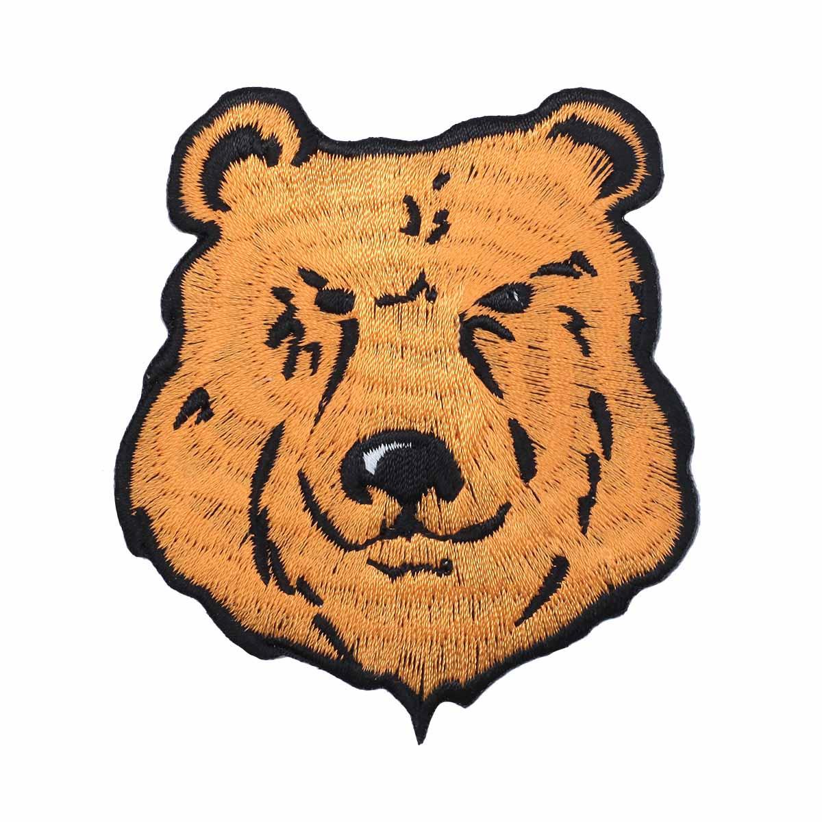 Термоаппликация 'Русский медведь' 7,7*6,7см Hobby&Pro