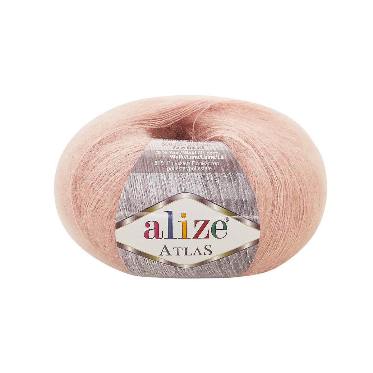 Пряжа Alize 'Atlas' 50гр. 250м. (49% шерсть, 51% полиэстер)