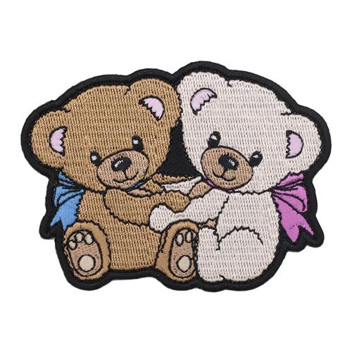 Термоаппликация 'Медвежата' 8*9см Hobby&Pro