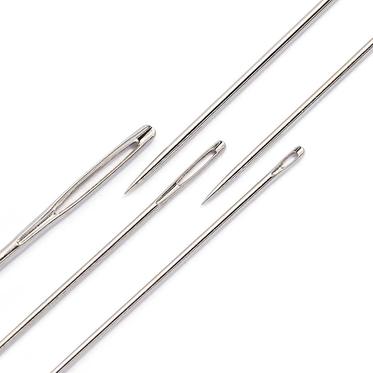 128600 Иглы набор для шитья,вышивки и штопки (30шт.в уп.) в распределительном пенале Prym