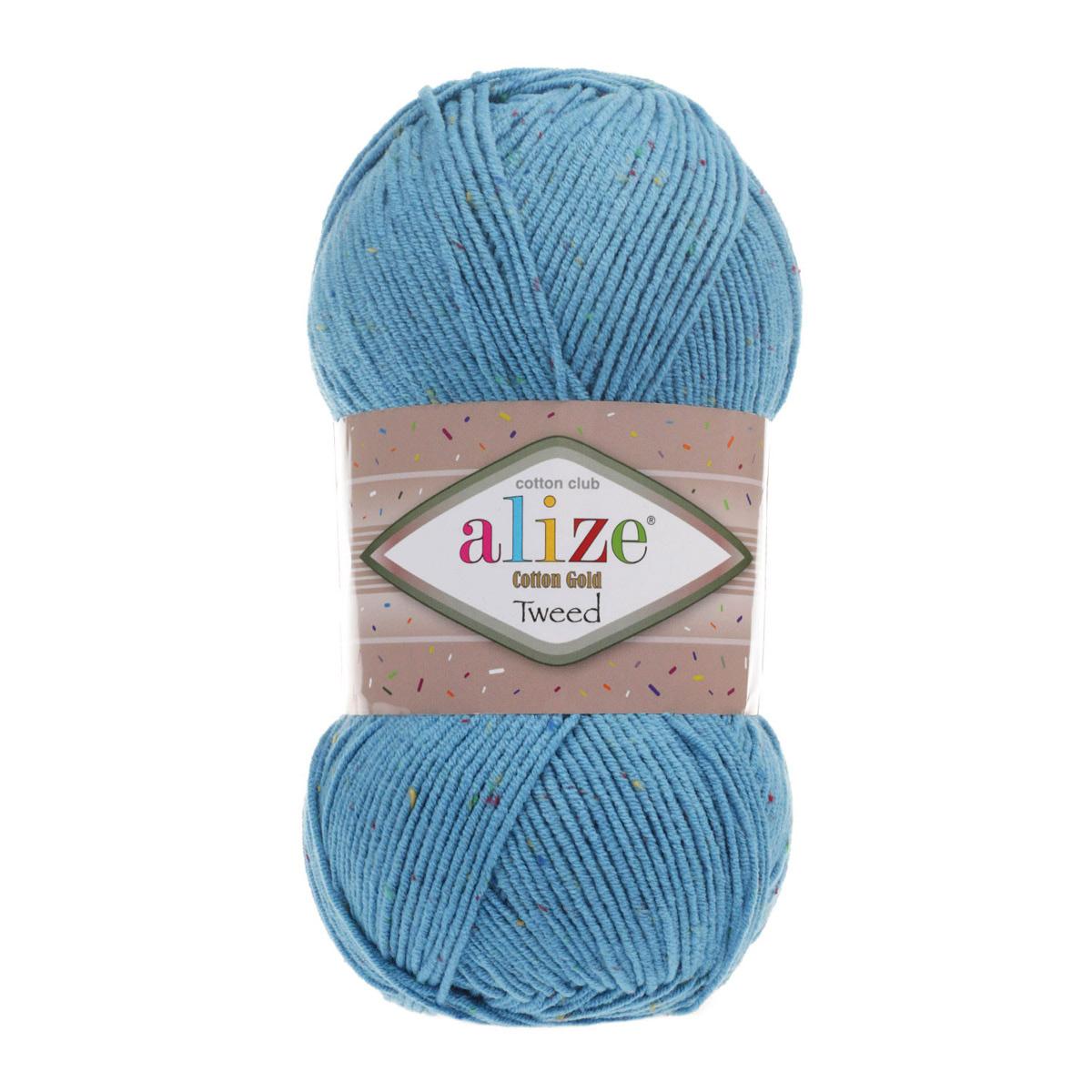 Пряжа Alize 'Cotton Gold Tweed' 100г 330м (57% хлопок, 40% акрил, 3% полиэстер)