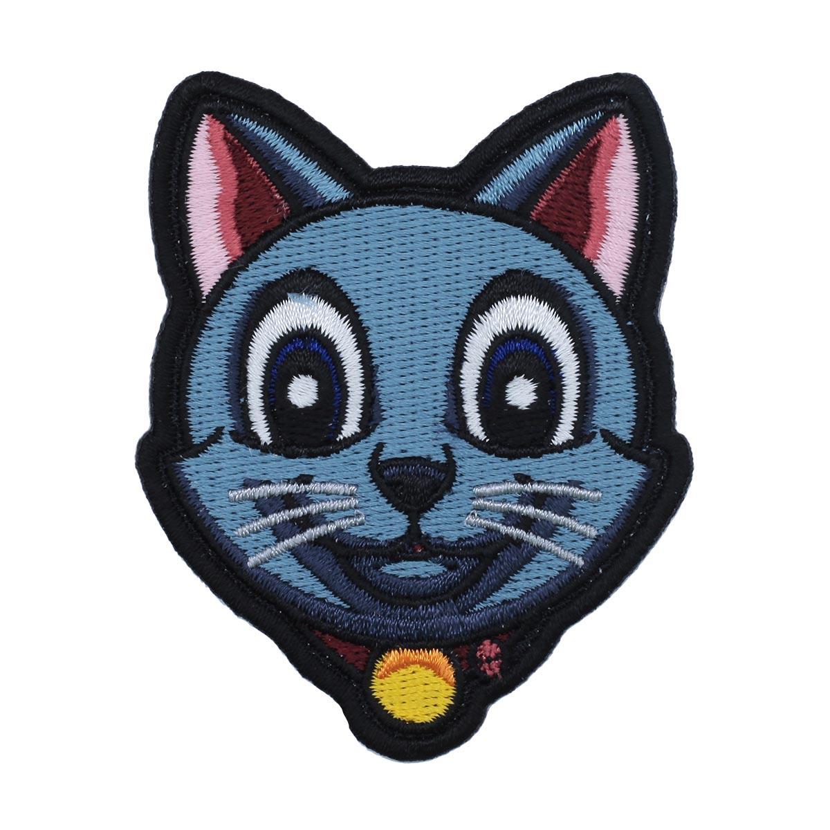 Термоаппликация 'Кот с медалью' 7*6см Hobby&Pro
