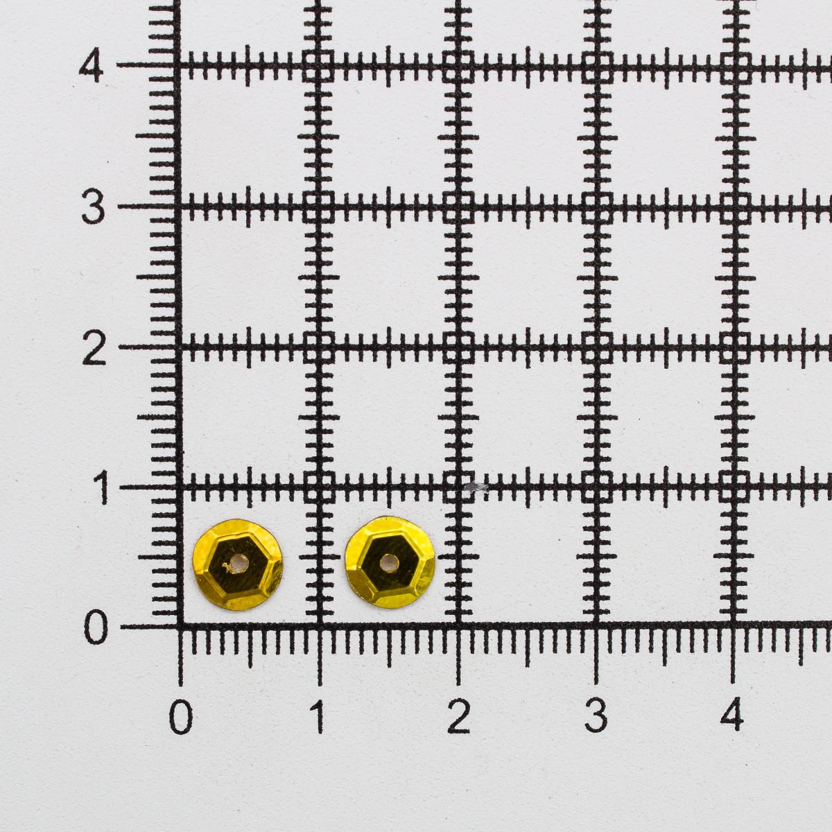 Пайетки граненые, 6 мм, упак./100 гр.