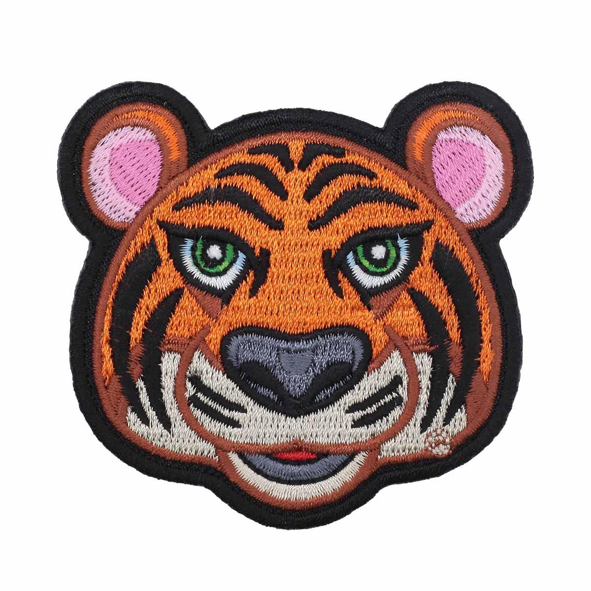 Термоаппликация 'Тигр' 6,5*7см Hobby&Pro