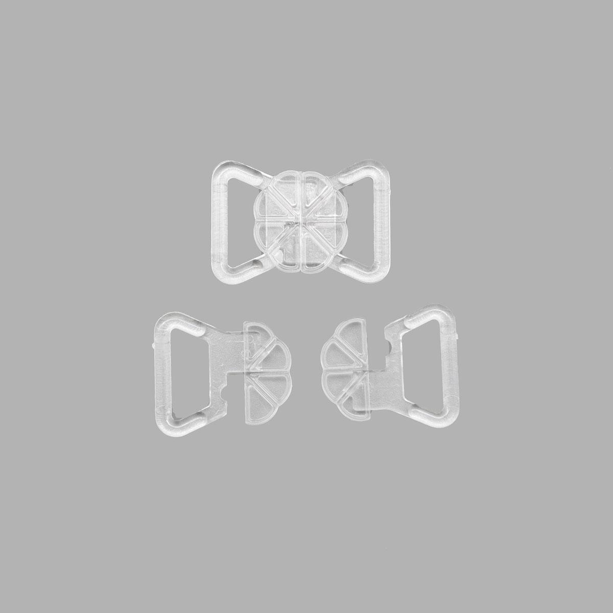 Застежка для бикини, пласт. 15мм 840150, Hobby&Pro