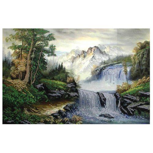 БН-3203 Набор для вышивания бисером Hobby&Pro 'Водопад' 40*26см