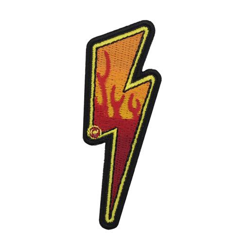 Термоаппликация 'Молния' 7,5*3см Hobby&Pro