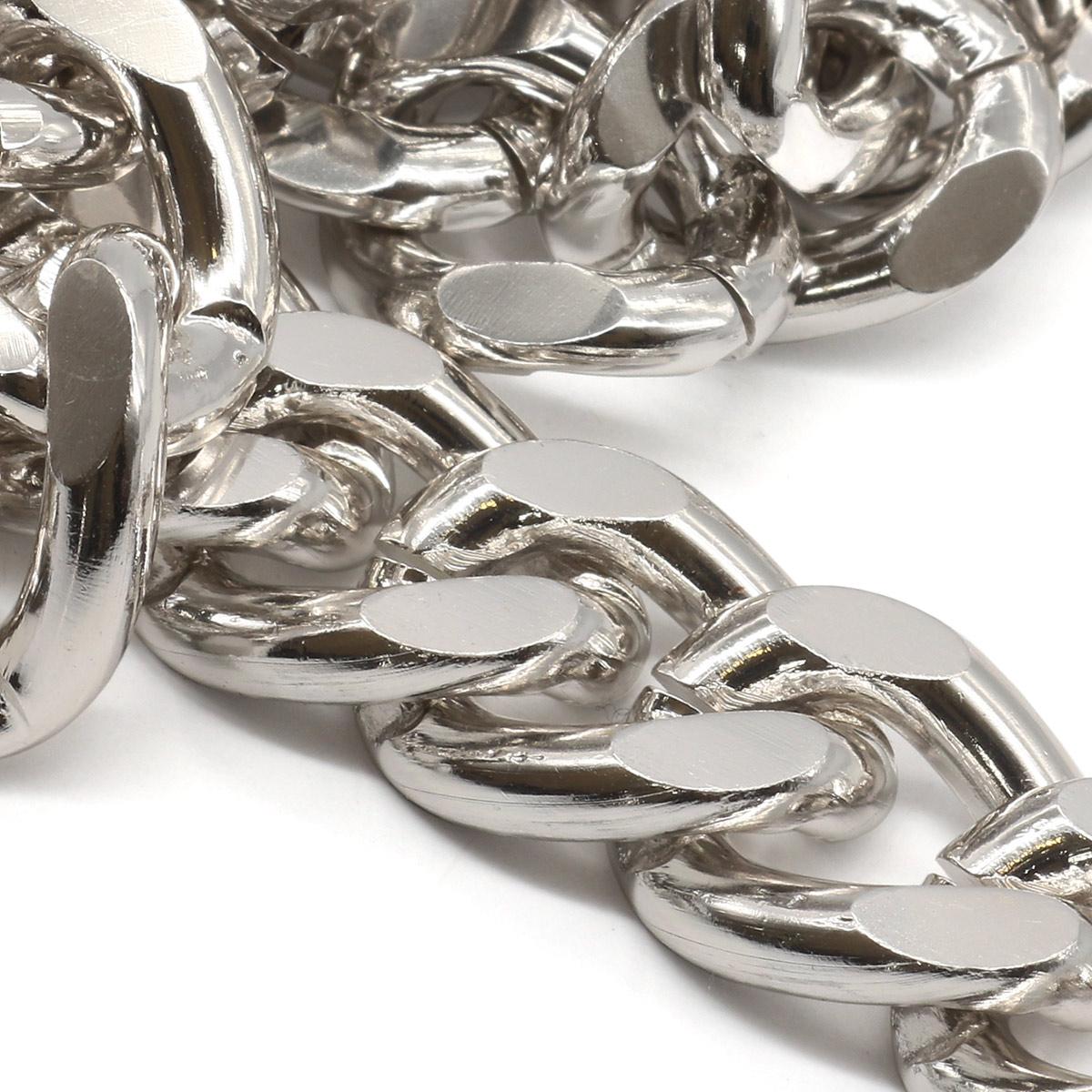 K8622 Цепь алюминиевая 19,8мм*14,6мм, боб(10м)