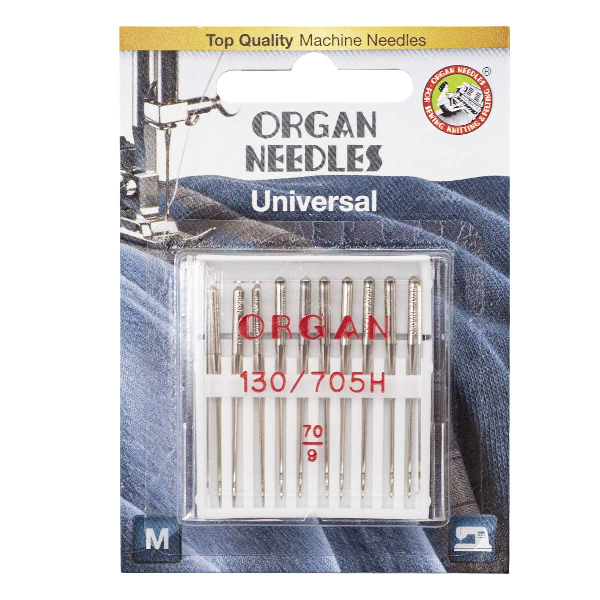 ORGAN иглы универсальные 10/70 Blister