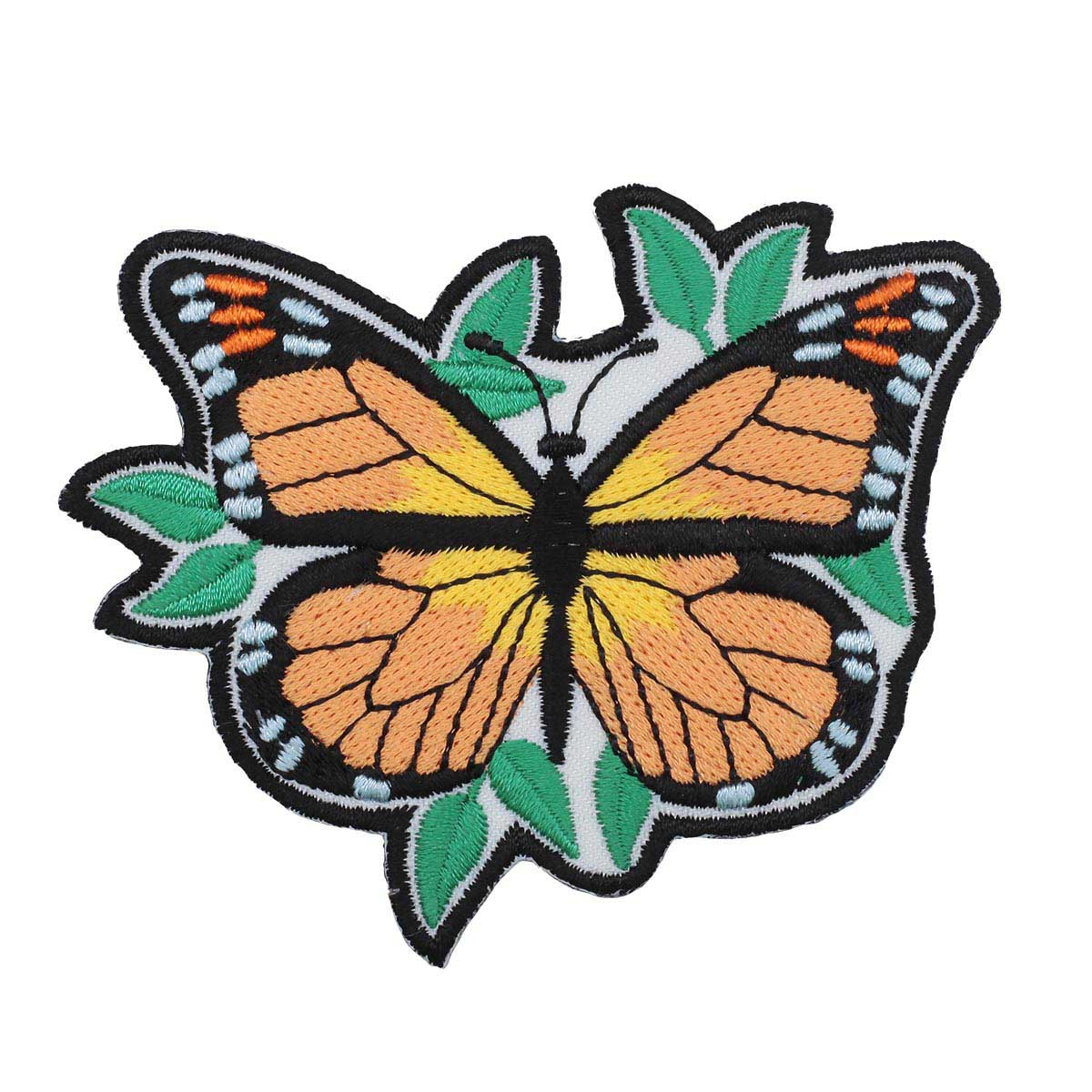 Термоаппликация 'Бабочка Монарх' 6,5*8,5см Hobby&Pro