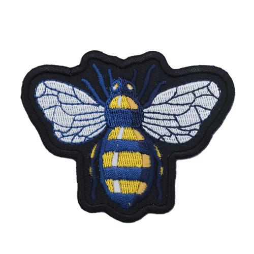 Термоаппликация 'Пчела' 6,5*7,5см Hobby&Pro