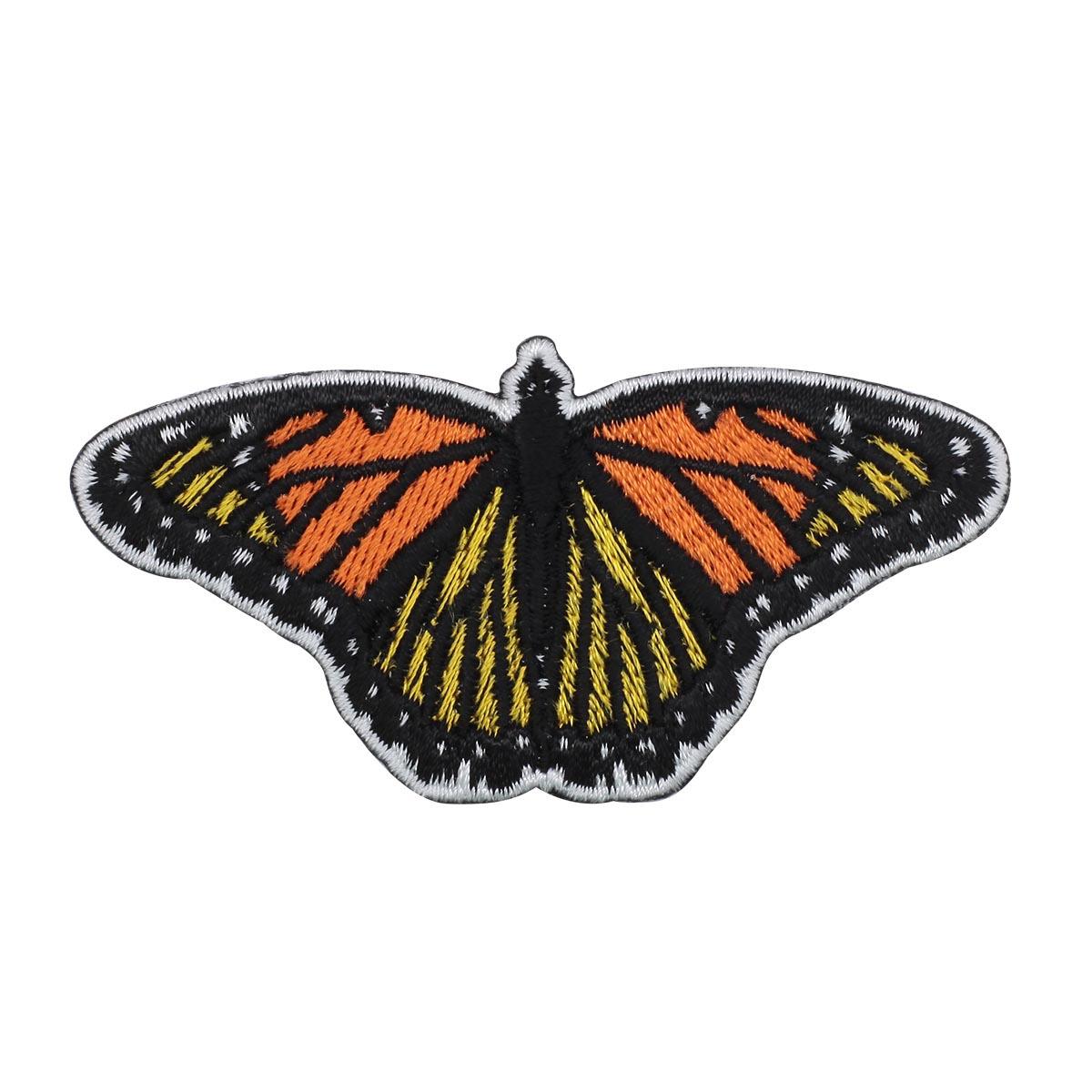 Термоаппликация 'Бабочка' 4*7,5см Hobby&Pro