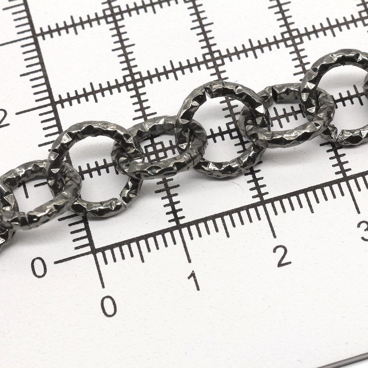 K14333 Цепь алюминиевая 2,0мм*11,6мм, боб(10м)
