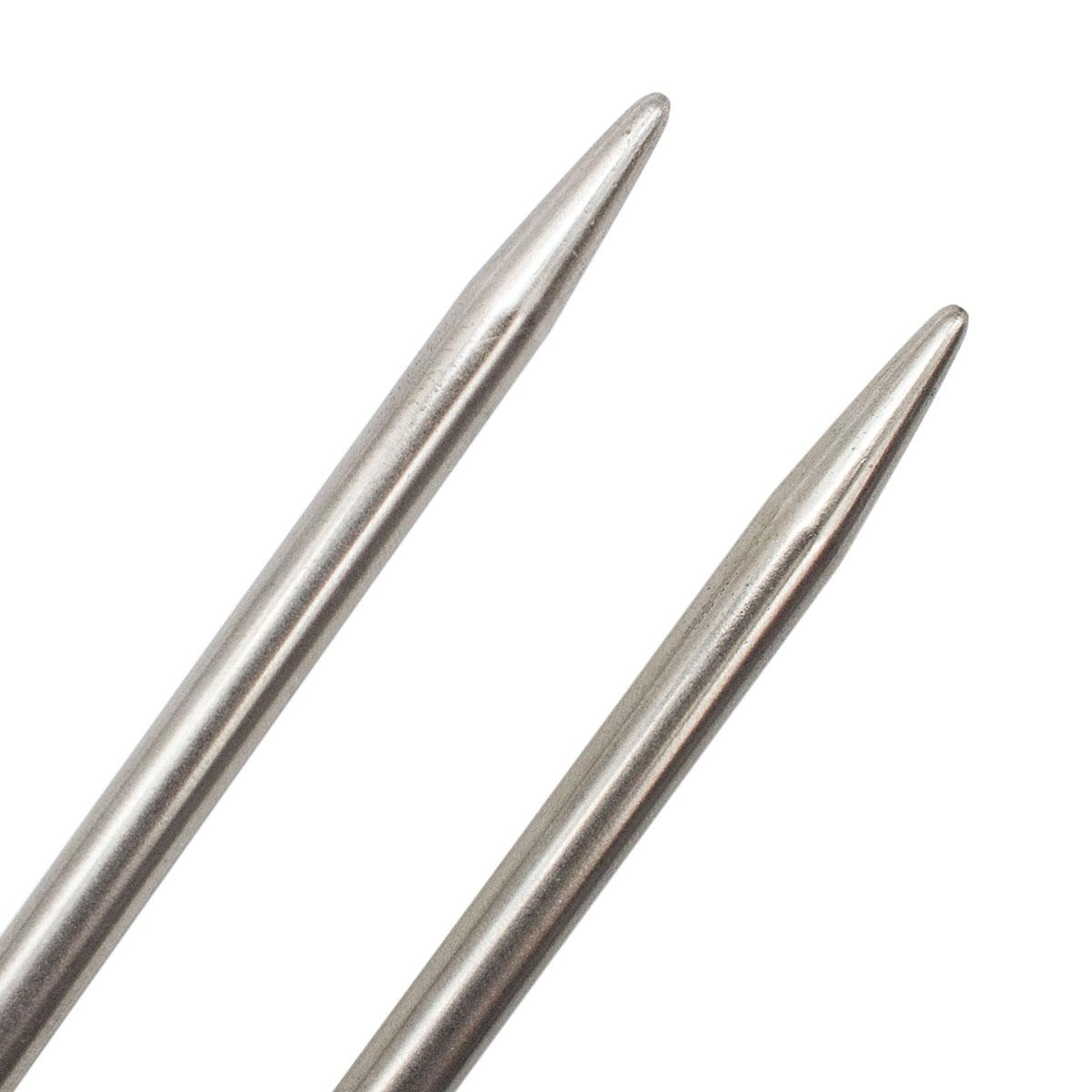 941160 Спицы круговые металл 100см, 6,0мм Hobby&Pro