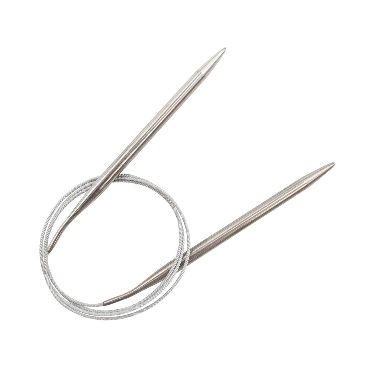 Спицы круговые металл 941170, 100 см, 7,0 мм, Hobby&Pro