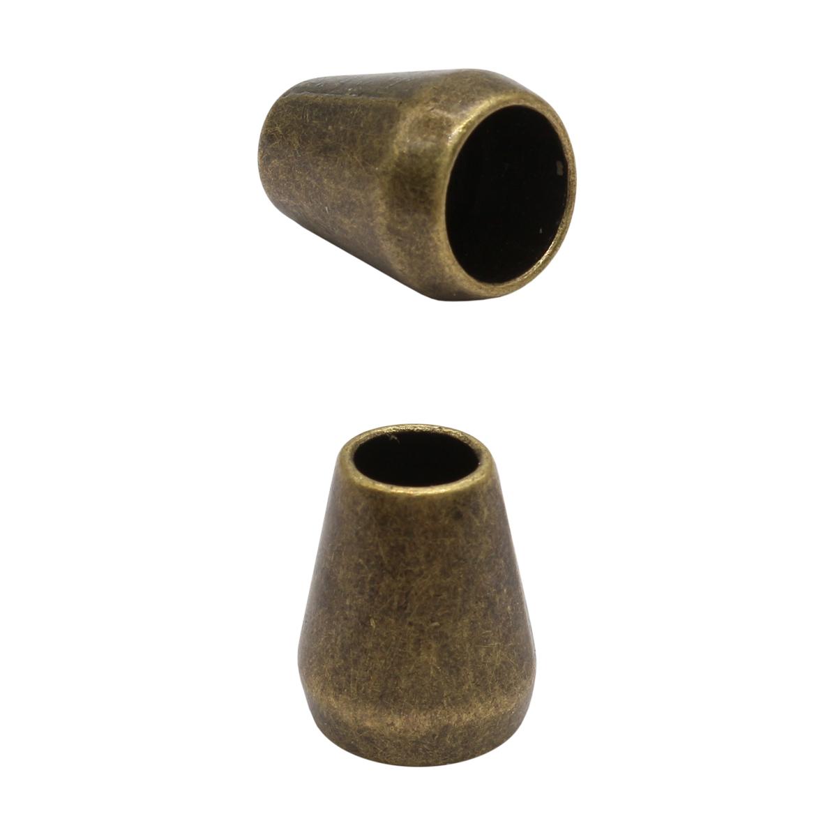 2AR001 021 Наконечник 'Колокол' 14мм, металл