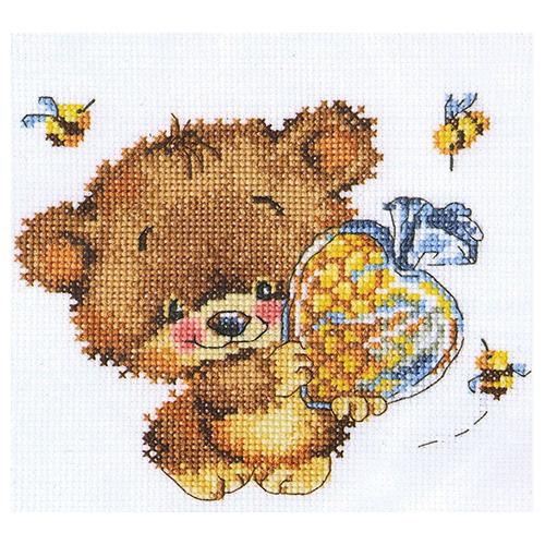 С218 Набор для вышивания RTO 'Доброе сердечко', 17х14 см