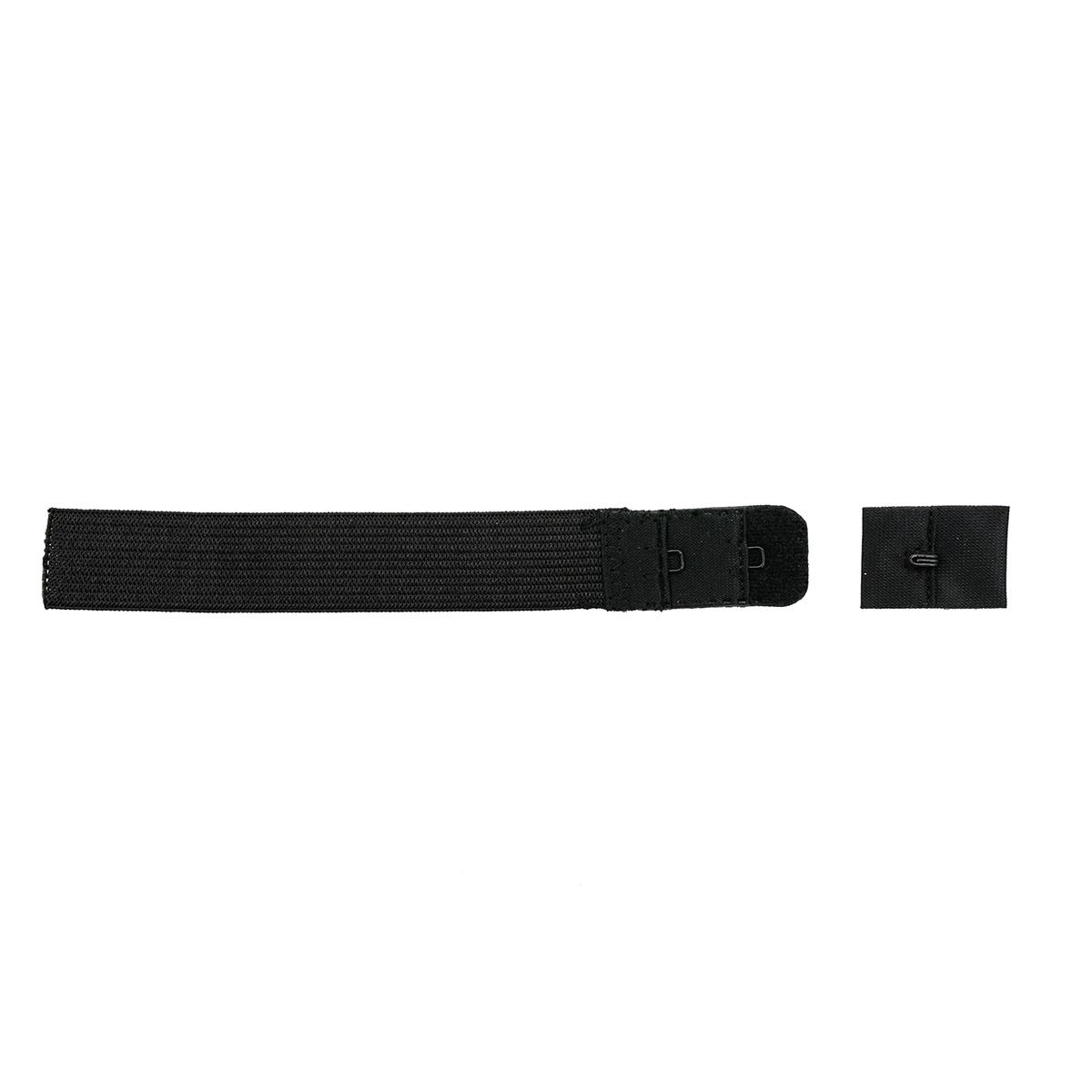 Застежка для бюстгальтера 19мм, 1 крючок, 1 шт., черный 850101, Hobby&Pro