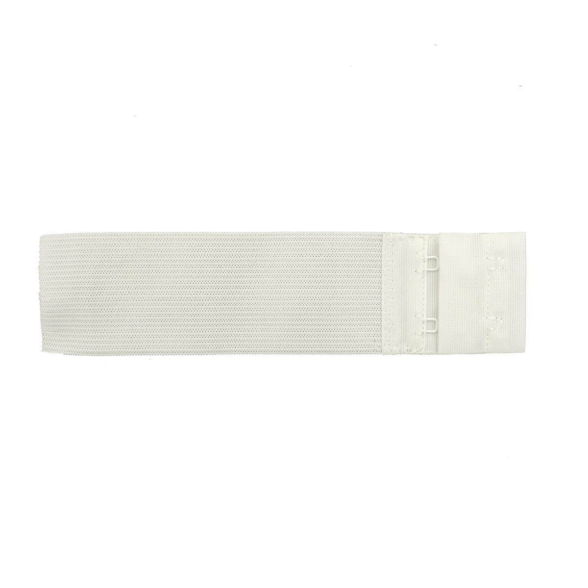 Застежка для бюстгальтера 38мм, 2 крючка, 1 шт., белый 852102, Hobby&Pro