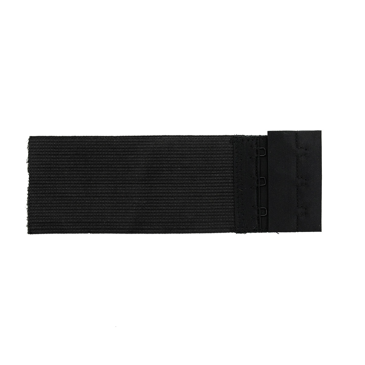 Застежка для бюстгальтера 50мм, 3 крючка, 1 шт., черный 853101, Hobby&Pro