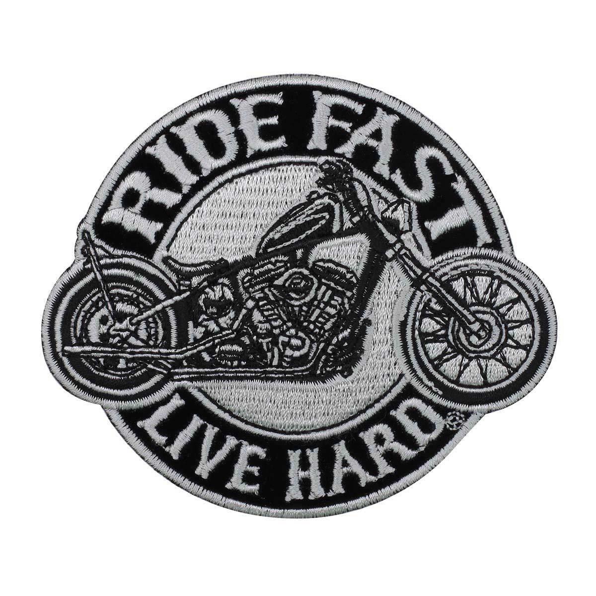 Термоаппликация 'Ride fast' 9*10,5см Hobby&Pro