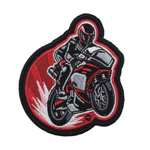 Термоаппликация 'Мотоциклист' 5*7см Hobby&Pro
