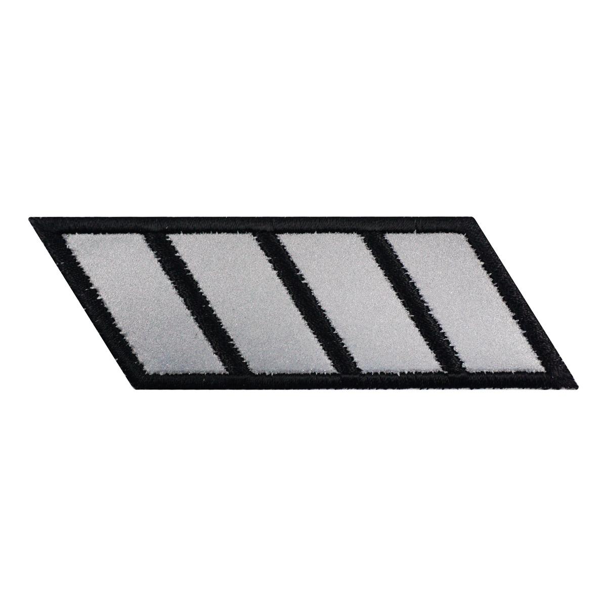 Термоаппликация 'Светоотражающие полосы' 3*10см Hobby&Pro