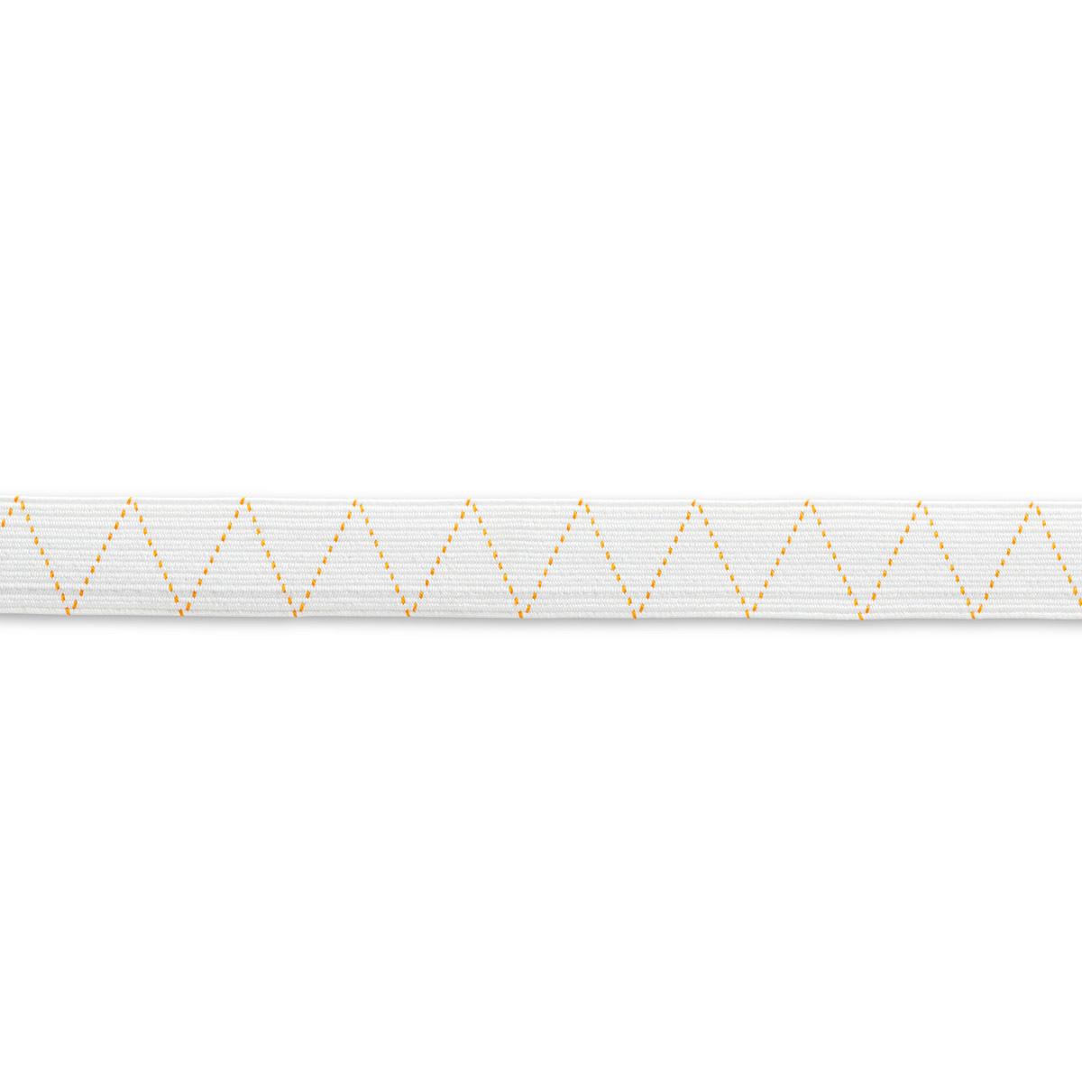 911440 Стандартная эластичная лента плетеная 20 мм*25м белый цв. Prym