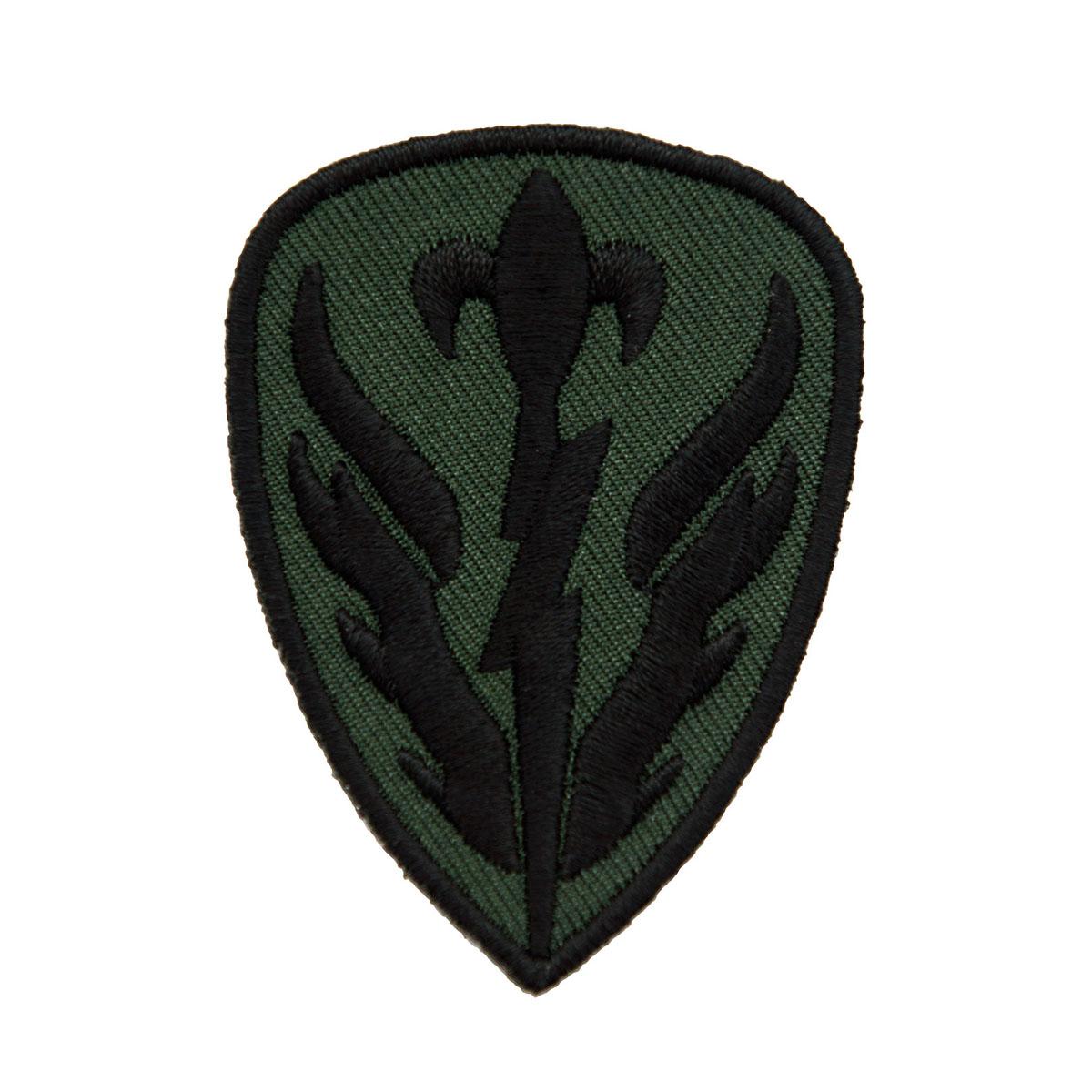 AD1297 504 Термоаппликация 'Военная разведывательная бригада', 4,5*6 см, Hobby&Pro