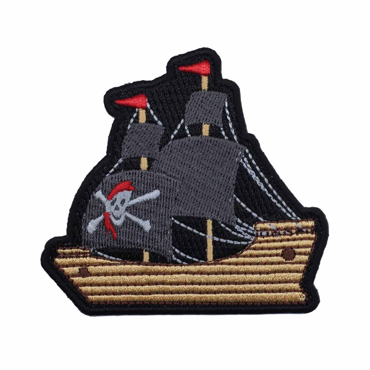 Термоаппликация 'Пиратский корабль' 7*7,5см Hobby&Pro