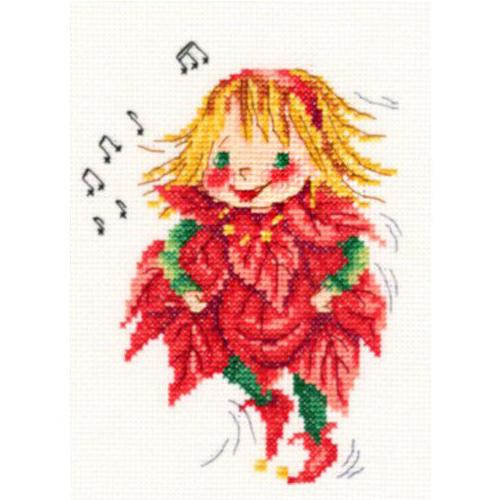 С272 Набор для вышивания RТО 'Рождественские мелодии', 11*14,5 см