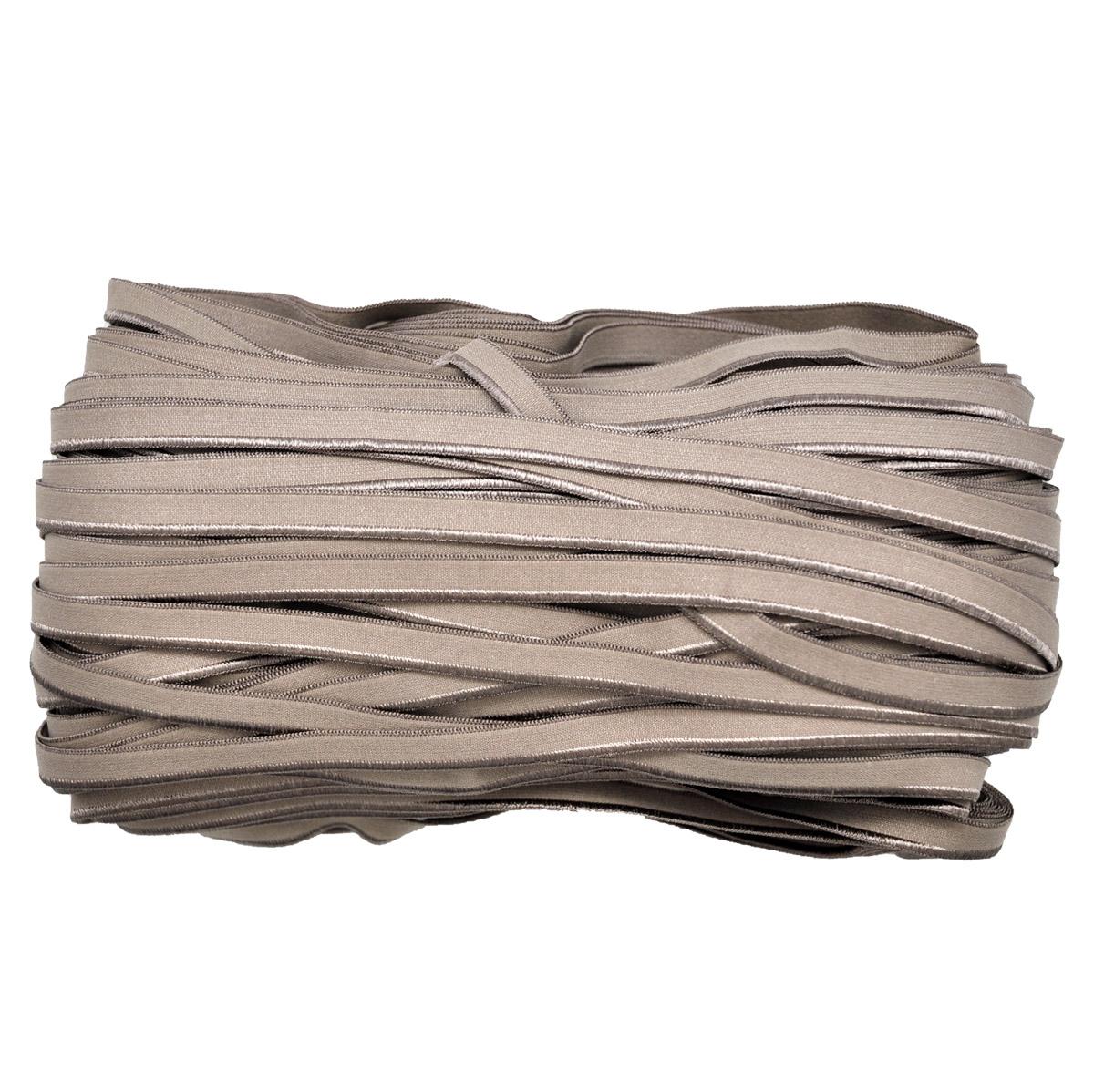 STP/38 эластичная отделочная лента 8мм*50м, серо-бежевый