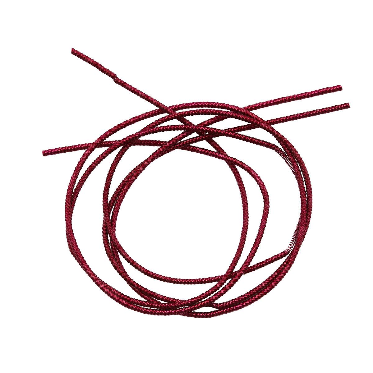 ТЗ011НН1 Трунцал зигзаг Вишневый 1,5 мм 5 гр, +/- 0,1 гр.