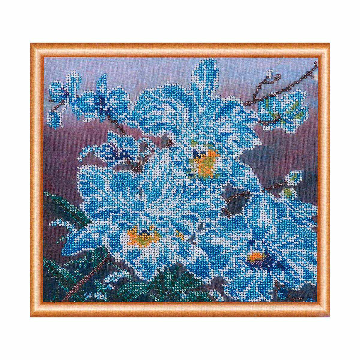 """Набор для вышивания бисером БН-3048 """"Белые орхидеи"""", 23х25 см, Hobby&Pro"""