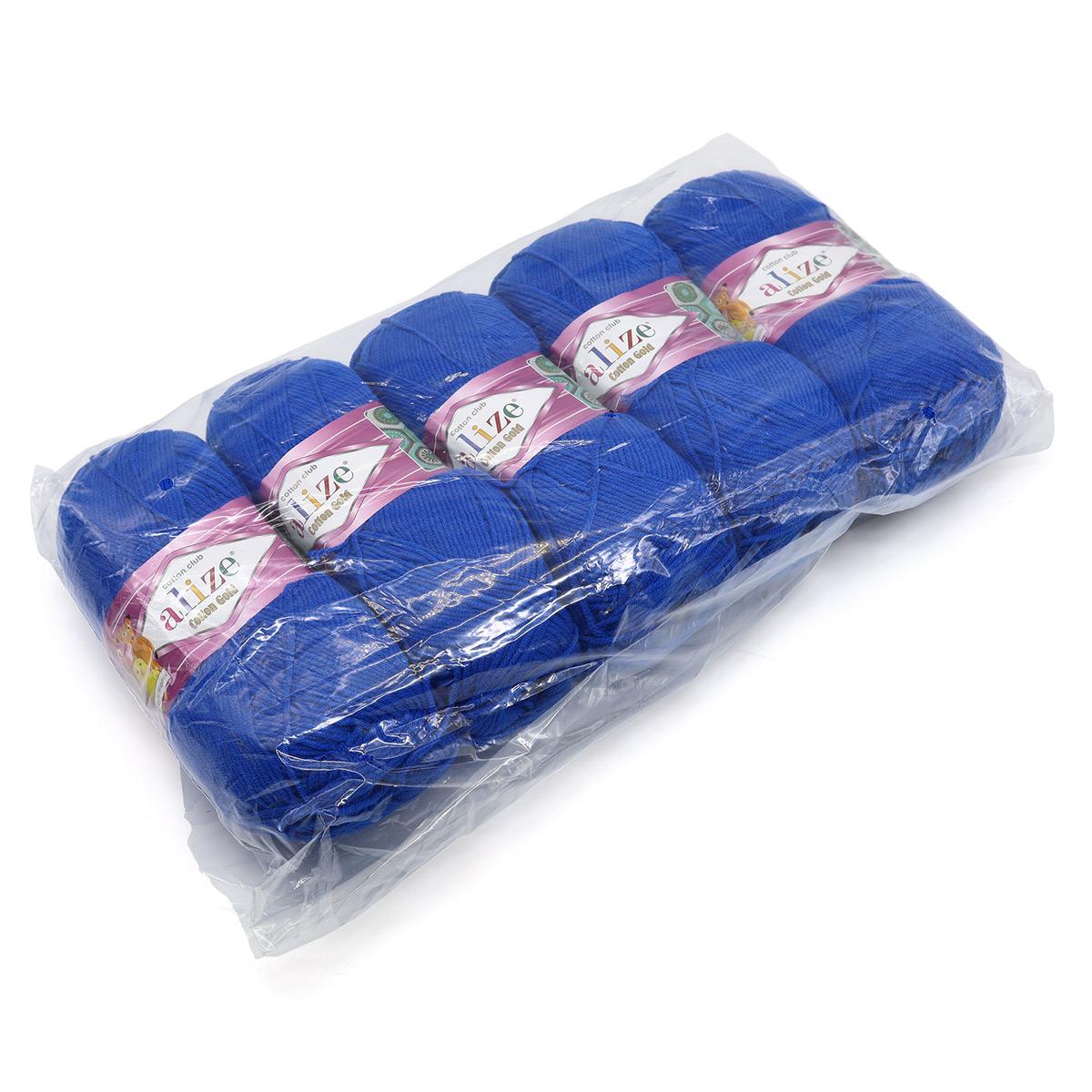 Пряжа ALIZE 'Cotton gold' (55%хлопок,45%акрил)ТУ